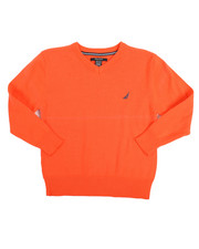 Nautica - V-Neck Sweater (8-20)