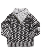 Sweatshirts & Sweaters - Shawl Pullover Sweater (4-7)