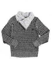 Sizes 8-20 - Big Kids - Shawl Pullover Sweater (8-20)