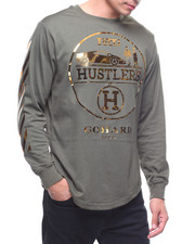 Buyers Picks - HUSTLERS GO HARD L/S TEE