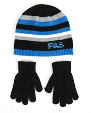 Boys - Knit Hat & Gloves Set
