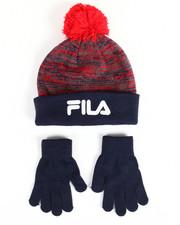 Gloves and Scarves - Knit Hat & Gloves Set-2168430
