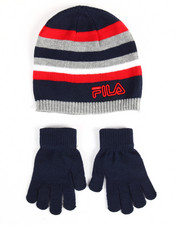 Hats - Knit Hat & Gloves Set