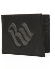Accessories - Bi-Fold Raised Logo Wallet