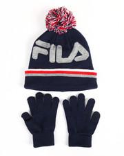 Gloves and Scarves - Knit Hat & Gloves Set-2168354