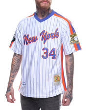 Buyers Picks - NEW YORK 34 PINSTRIPE V-NECK JERSEY