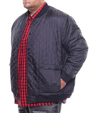 Light Jackets - Quilted Bomber Jacket (B&T)