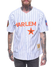 Buyers Picks - HARLEM  17 STRIPE BB JERSEY