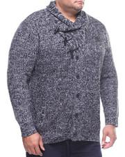 Sweatshirts & Sweaters - Shawl Toggle Sweater (B&T)