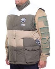 Vests - Color Block Puff Vest (B&T)