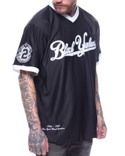 Buyers Picks - BLACK YANKEES V-NECK JERSEY
