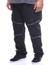 Copper Rivet - Twill Rip Zipper Pants (B&T)-2168752