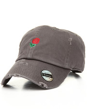 Men - Distressed Rose Dad Hat