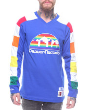 NBA, MLB, NFL Gear - Denver Nuggets Striped Longsleeve