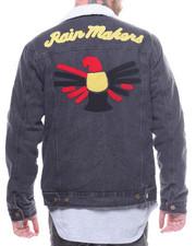 Outerwear - Denim Sherpa Jacket