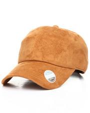 Men - Suede Ball Cap