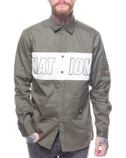 Button-downs - Nation LS Woven