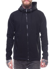 Men - ZIP TECH FLEECE HOODY W TAPE POCKETS