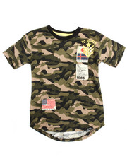 Boys - S/S Patch Crew Neck Tee (8-20)