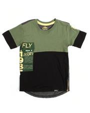 T-Shirts - S/S Contrast Crew Neck Tee (8-20)