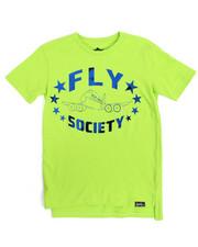 T-Shirts - S/S Mirror Metallic Logo Print Tee (8-20)