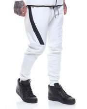 Basic Essentials - Side - Zip Tech Fleece Joggers-2168825