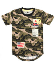 Boys - S/S Patch Crew Neck Tee (4-7)