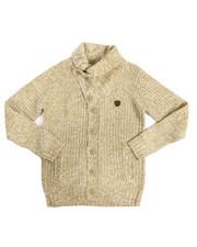 Sweatshirts & Sweaters - Shawl Cardigan Sweater (8-20)