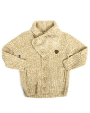 Sweatshirts & Sweaters - Shawl Cardigan Sweater (4-7)