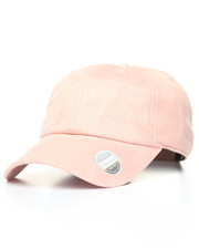 Hats - Suede Ball Cap