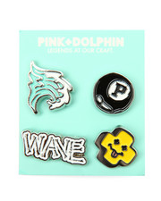 Pink Dolphin - New Enamel Pin Set