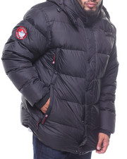 Outerwear - Hooded Down Jacket (B&T)