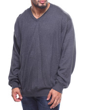 Sweaters - L/S Fieldhouse V-Neck Sweater (B&T)-2169638