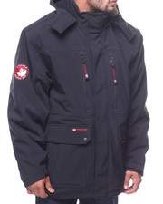 Outerwear - Soft Shell Systems Hooded Jacket (B&T)