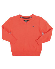Nautica - V-Neck Sweater (4-7)