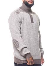 Big & Tall - 1/4 Zip Sweater (B&T)-2170411