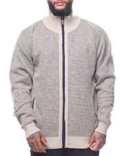 Sweatshirts & Sweaters - Full Zip Fleece Lined Sweater (B&T)