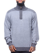 Big & Tall - 1/4 Zip Sweater (B&T)-2170332