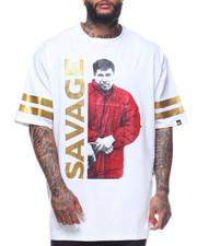 Buyers Picks - S/S Savage Chapo Foil & Rhinestones Tee (B&T)