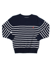 Nautica - L/S Stripe Sweater (8-20)