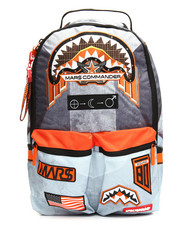 Sprayground - Misson To Mars: Shark Patches Buzz Aldrin Collab Backpack