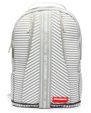 "Sprayground - Japan Stripe ""White Knit DLX"" Backpack"