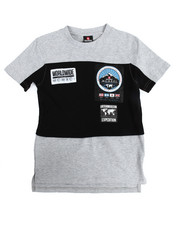 T-Shirts - S/S Cut & Sew Patch Tee (8-20)