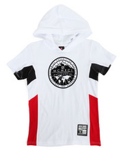 T-Shirts - Cut & Sew Hooded Tee (8-20)