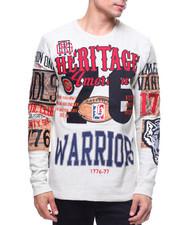 Heritage America - WARRIORS L/S CREWNECK