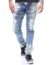 Buyers Picks - BLEACHED MOTO JEAN