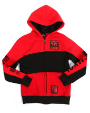 Southpole - Fleece Back Patch Hoodie (8-20)-2169827