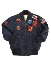 Outerwear - MA-1 Bomber Jacket (2T-4T)