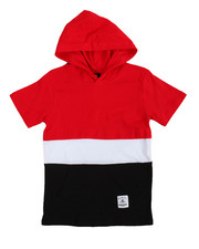 T-Shirts - Anorak Hooded Tee (8-20)