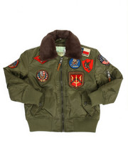 Top Gun - B-15 Bomber Jacket (8-20)-2170523